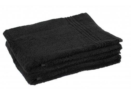 Handdoek 100 x 50 cm Bamboe handdoek zwart 100 x 50 cm