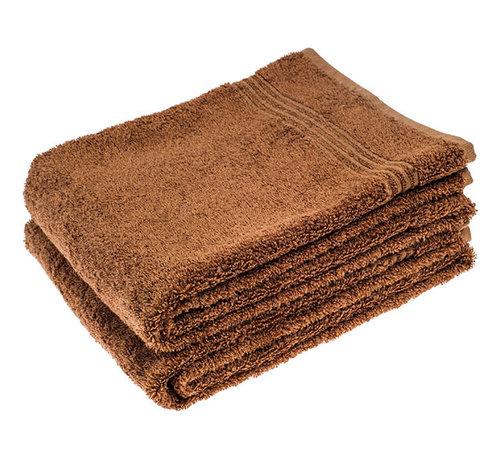 Handdoeken 100 x 50 cm Bamboe handdoek bruin 100 x 50 cm