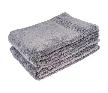Handdoek 100 x 50 cm Bamboe handdoek grijs 100 x 50 cm