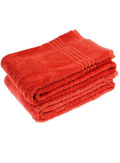 Handdoeken 100 x 50 cm Handdoek rood 100 x 50 cm