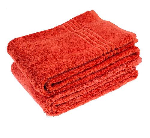 Handdoeken 100 x 50 cm Bamboe handdoek rood 100 x 50 cm