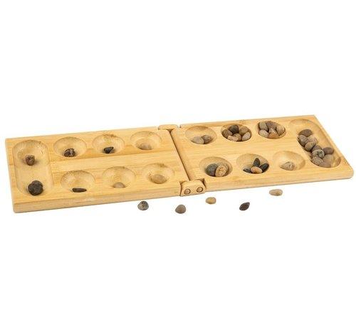 Spelen Bamboe - Mancala bonenspel