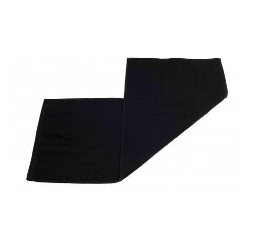 Handdoeken 70 x 30 cm   Gastendoek set van 3 stuks zwart - 70 x 30cm