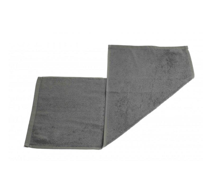 Gastendoek set van 3 stuks grijs - 70 x 30cm