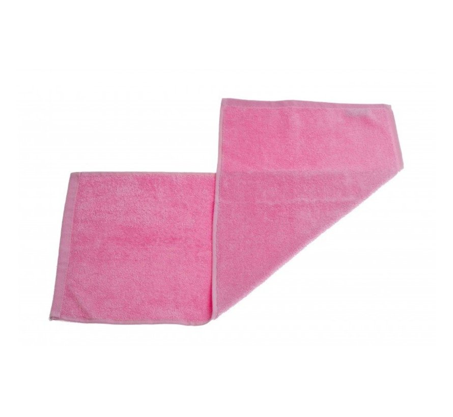 Gastendoek set van 3 stuks roze - 70 x 30cm