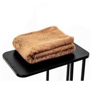 Handdoeken 200 x 90 cm Sauna handdoek bruin 200 x 90 cm