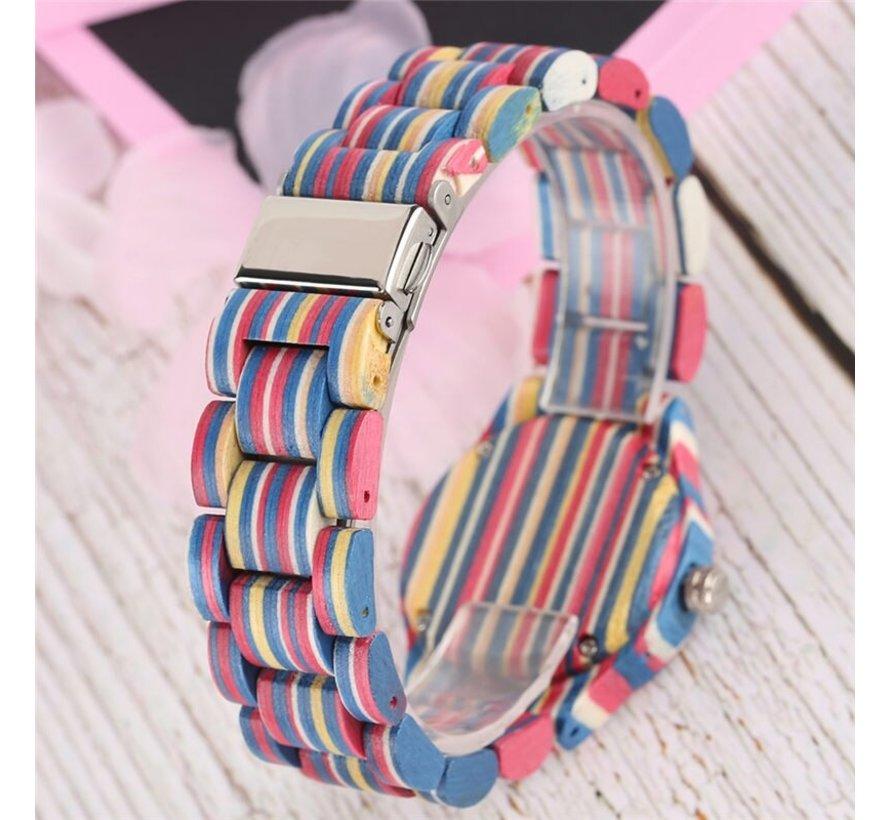 Casual horloge - Kleurrijke Design - Dames