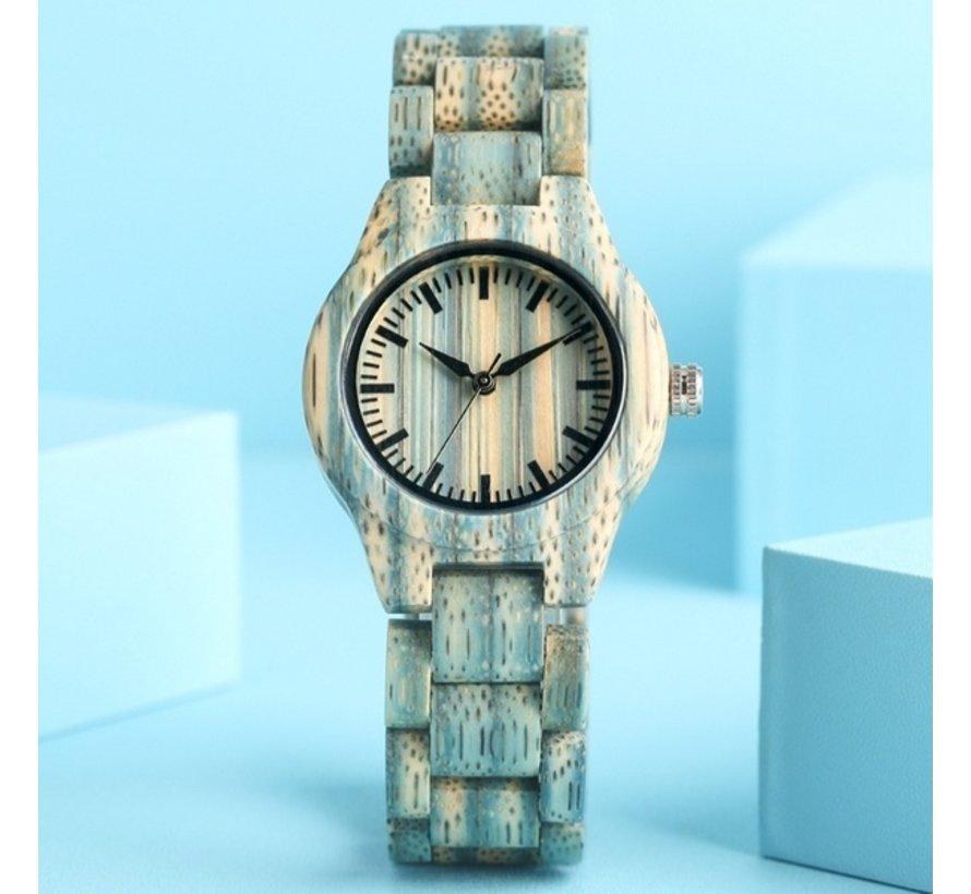 Casual horloge - Legergroen - Dames