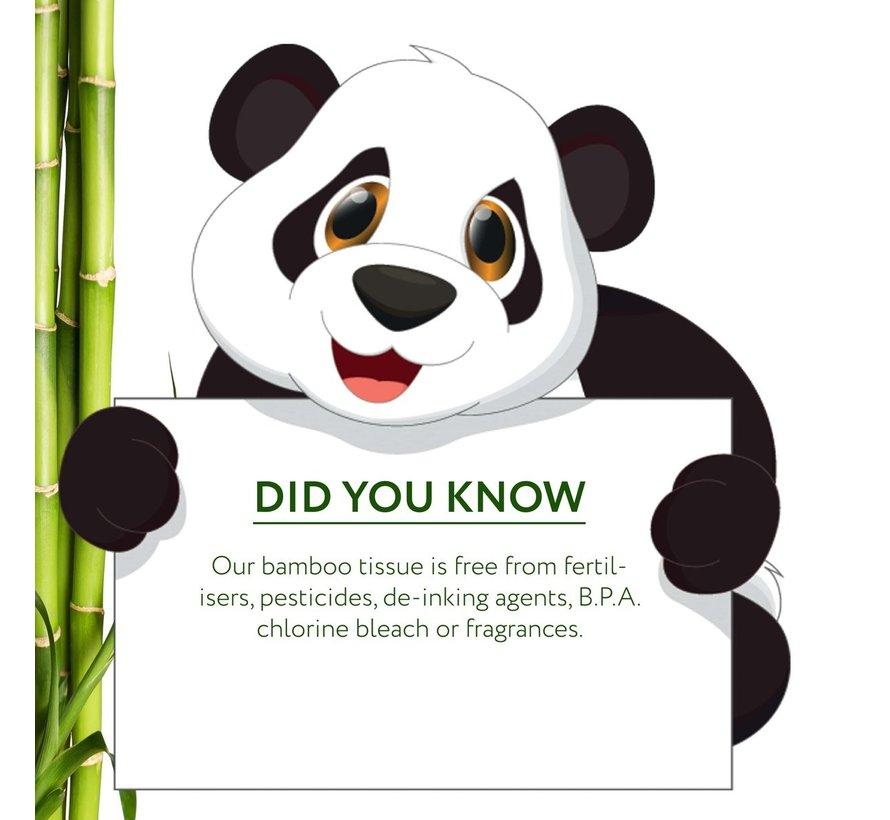 Cheeky Panda - Bamboe zakdoekjes plasticvrij - 16-Pack - 3 Laags