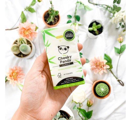Zakdoekjes Cheeky Panda - Bamboe pocket tissues -  Plasticvrij - 3 Laags