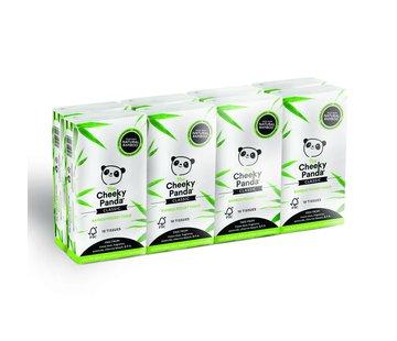 Zakdoekjes Bamboe zakdoekjes plasticvrij - 16-Pack - 3 Laags