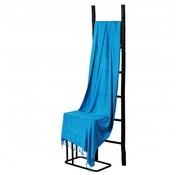 Hamamdoeken Bamboe hamamdoek - Blauw - XXL 200x90cm