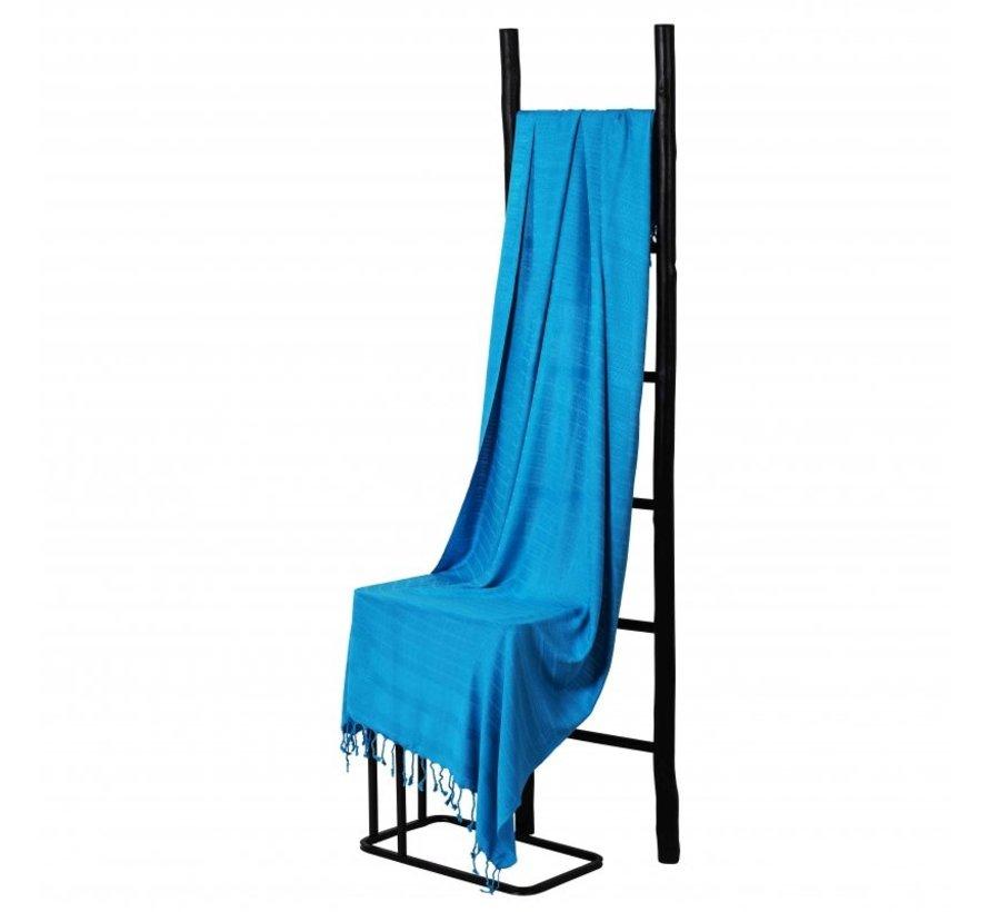 Bamboe hamamdoek - Blauw - XXL 200x90cm