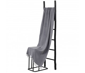 Hamamdoeken Bamboe hamamdoek - Grijs - XL 170x85cm
