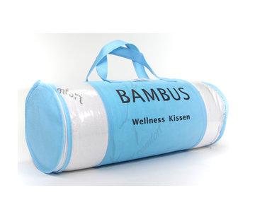 Hoofdkussens Bamboe wellness hoofdkussen - 60x48 cm