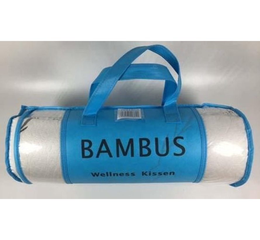 Bamboe wellness hoofdkussen - 80x48 cm