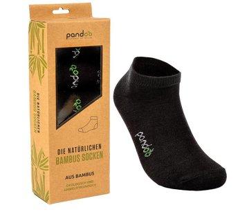 Sokken Bamboe Sneaker Sokken - Zwart - 6-Pack - Unisex