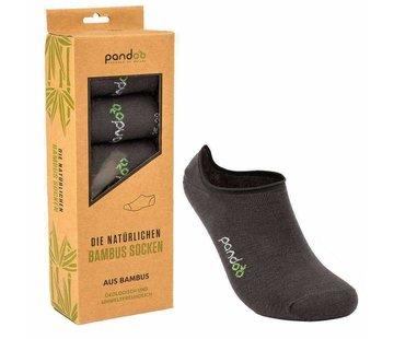 Sokken Bamboe Footies Sokken - Grijs - 6-Pack - Unisex