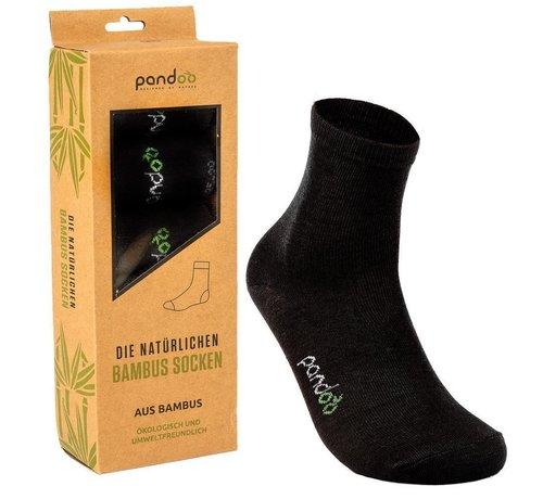 Sokken Bamboe Sport Sokken - Zwart- 6-Pack - Unisex