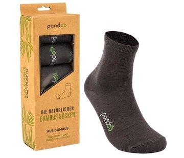 Sokken Bamboe Sport Sokken - Grijs - 6-Pack - Unisex