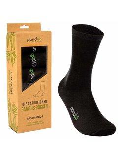 Sokken Bamboe Heren Sokken - Zwart- 6-Pack