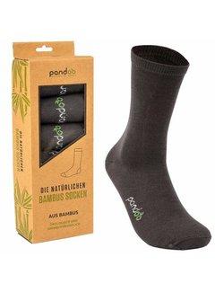 Sokken Bamboe Heren Sokken - Grijs- 6-Pack