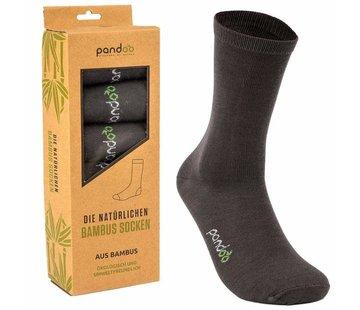 Sokken Bamboe Business  Sokken - Grijs- 6-Pack