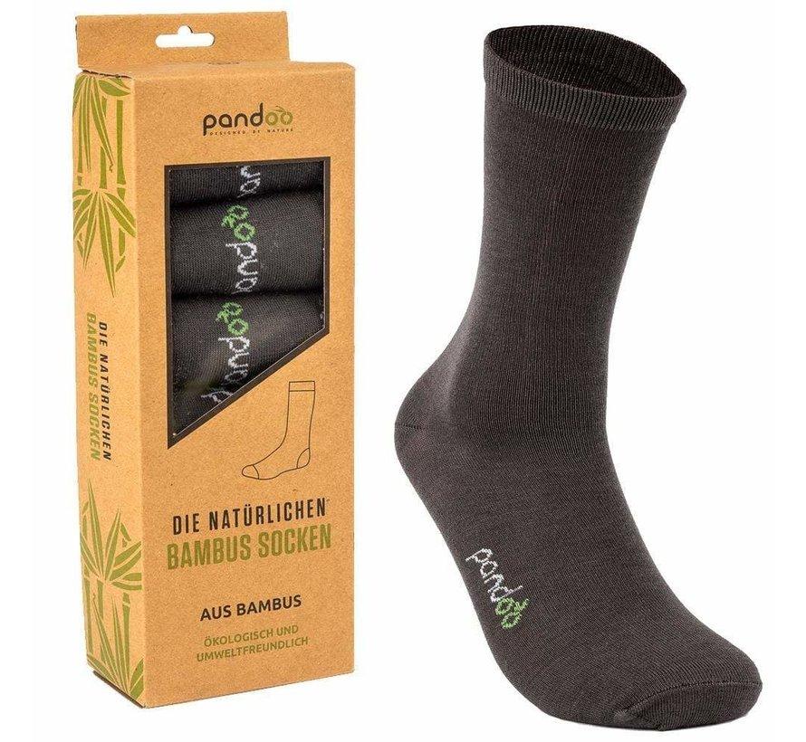 Bamboe Heren Sokken - Grijs- 6-Pack