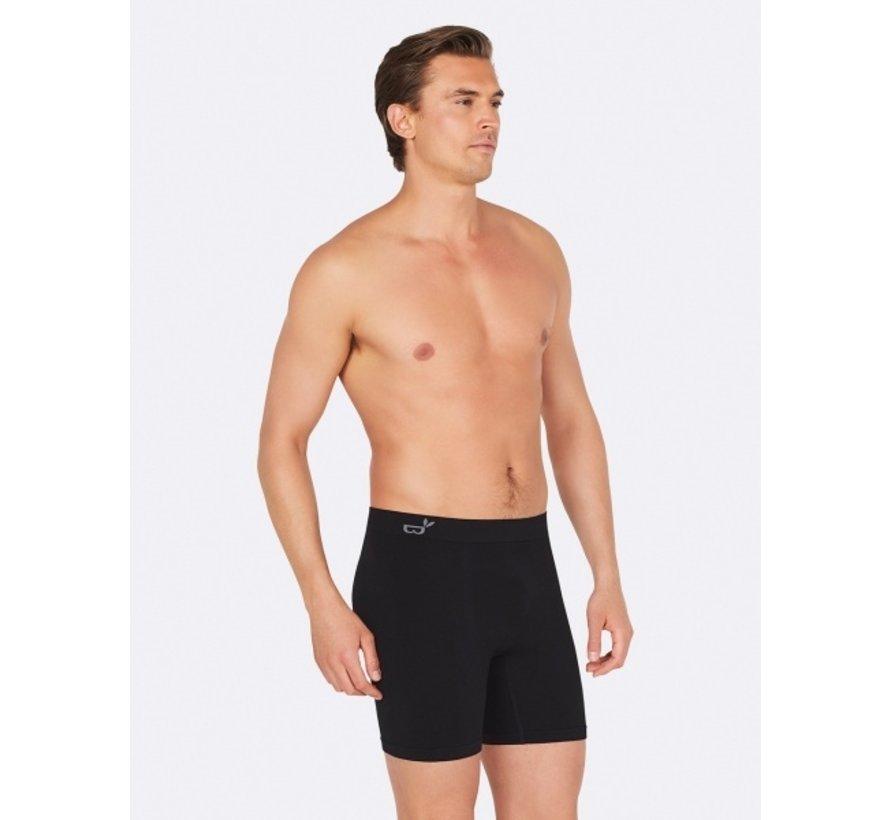 Boody - Lange boxer ondergoed - Zwart