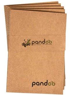 Notitieboeken Noteboek A5 gemaakt van 100% bamboepulp- 5 Stuks