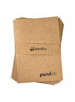 Notitieboeken Pandoo - Noteboek A4 gemaakt van 100% bamboepulp
