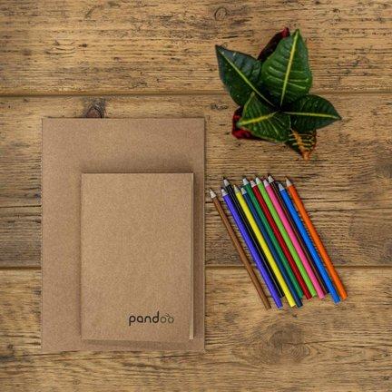 Duurzame notitieboeken & potloden