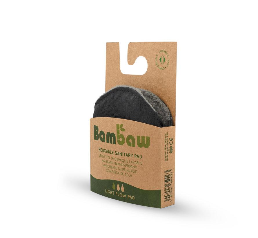 Bambaw - Wasbare Inlegkruisjes - Light Flow - Small