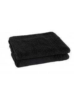 Handdoeken 140 x 70 cm Handdoek zwart 140 x 70 cm