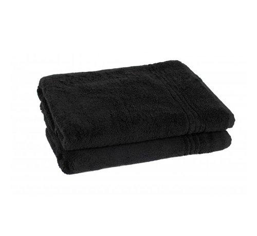Handdoeken 140 x 70 cm Bamboe handdoeken Zwart 140 x 70 cm