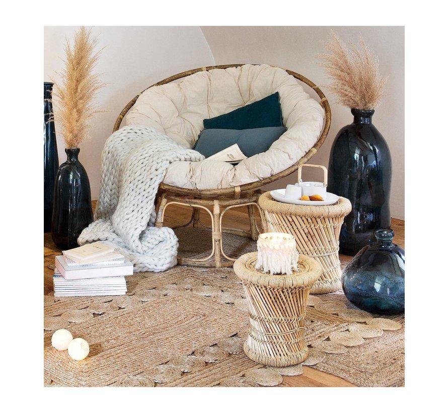krukjes van Bamboe & hennep -  Naturel & Black