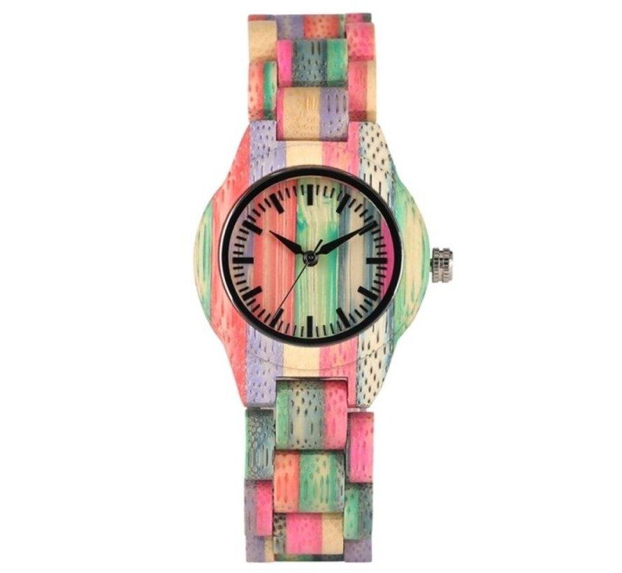 Bamboe horloge Londen - Unisex