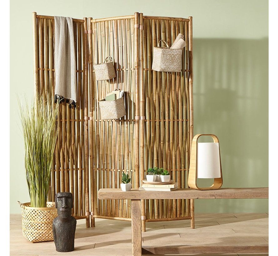 Set Van 3 Bamboe Manden - Naturel - ATMOSPHERA