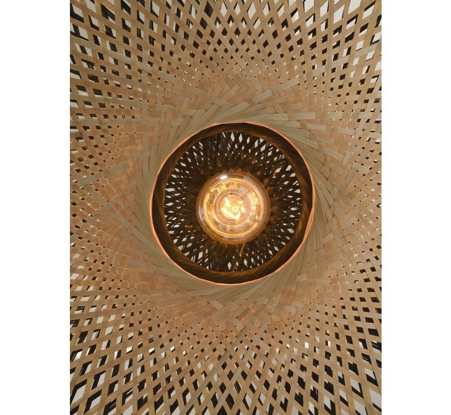 Bamboe Wandlamp Kalimantan - Good&Mojo - H 70 x B 112 x Ø 60 cm