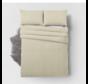 Bamboo Touch Dekbedovertrek- Inclusief 2 x kussensloop - Cream