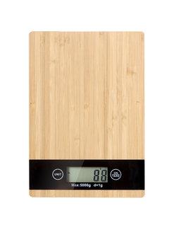 Weegschalen LCD keukenweegschaal tot 5 kg - inclusief 2 x AAA  batterij