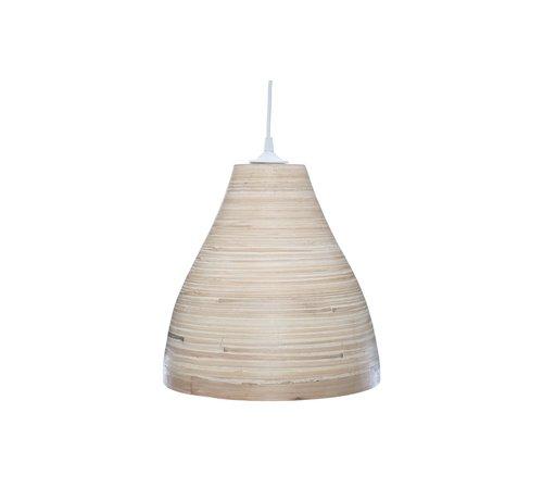 Hanglampen Bamboe Hanglamp – Atmosphera – Ø30 - Beige