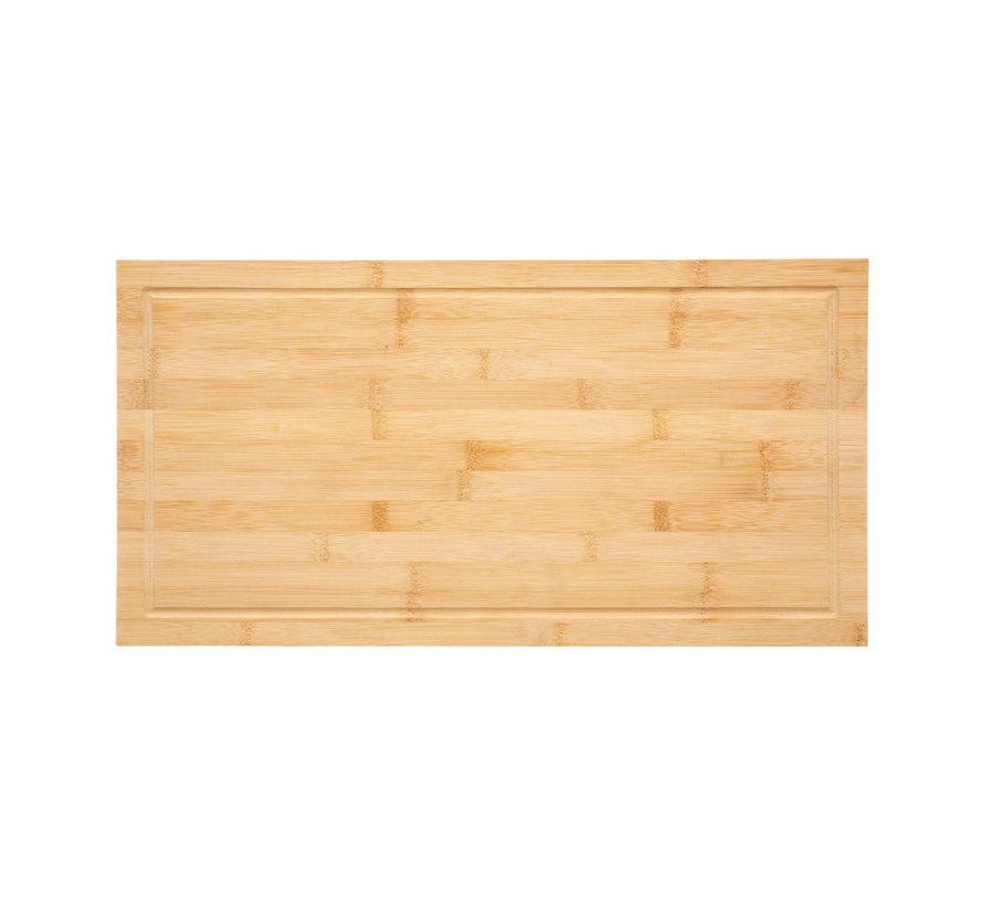 Grote elegante bamboe snijplank - 54 x 28 cm
