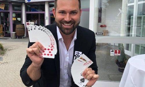 Zauberhafter Abend mit Zauberer Christoph Kulmer