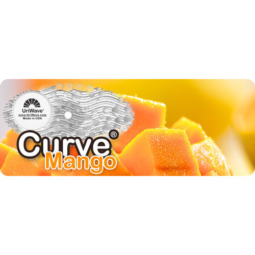 Uriwave Uriwave Curve Mango (transparant) 10 stuks