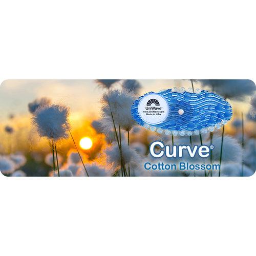 Uriwave Uriwave Curve Katoen Bloessem (Blauw) 2x