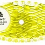 Uriwave Uriwave Curve Citrus (Geel) 2 stuks