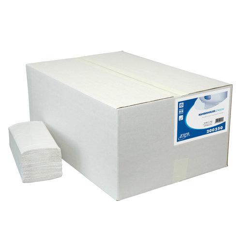 Euro Products Z vouw 2 lg cellulose handdoeken