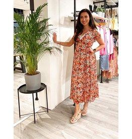 HEBBEZ Dress Flora - Rood