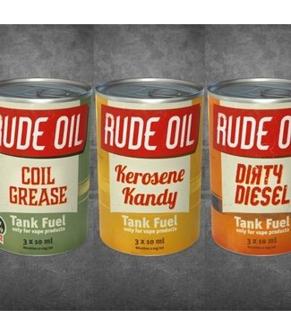Rude Oil - Coil Grease - 3 x 10ml